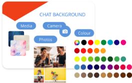customise chat
