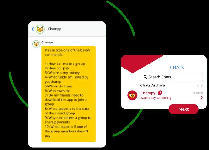 Champy-Travel-Splitting-App-Social-Expense-Management-App