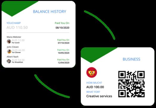 restaurant-bill-splitting-app-dinner-split-bill-app-youchamp-bizchamp-steps-money-split-app-mobile-payments-app